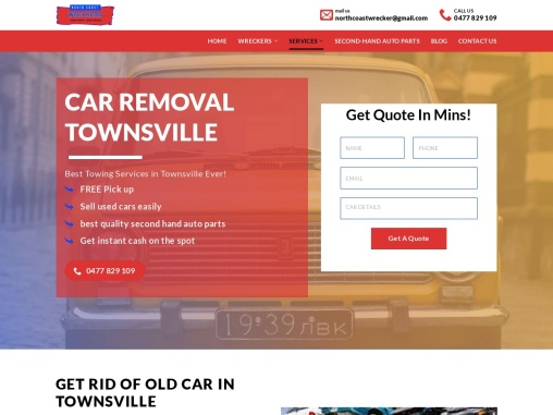 Best Car Removal Townsville in Townsville