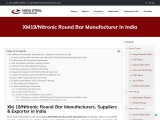 XM19/Nitronic Round Bar Manufacturer