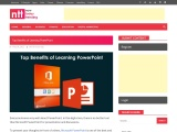 Top Benefits of Learning PowerPoint