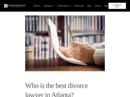 Who Is The Best Divorce Lawyer In Atlanta, Georgia?