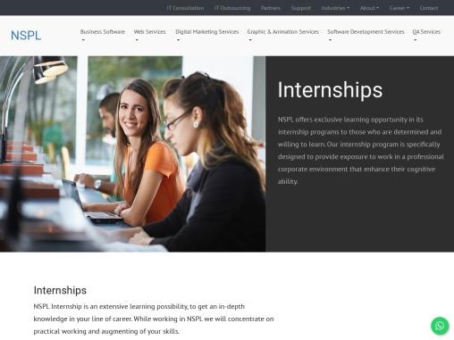 IT Internships in Amritsar   Internships