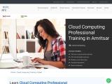 Professional Cloud Computing Training in Amritsar