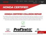Honda Certified Collision Repair   NT Auto Body