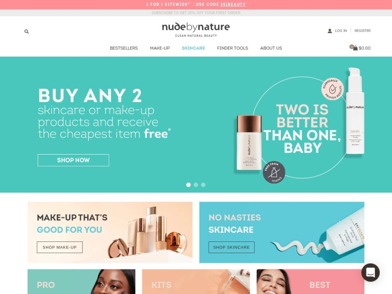 Nude by Nature screenshot