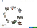 Coated peanut production line/Coating peanut making machine