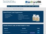 Best Private Label Manufacturers | NutraPakUSA