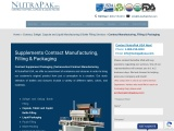 Contract Manufacturing Bottling | NutraPakUSA