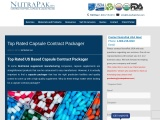 Top Rated Capsule Contract Packager