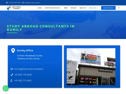 Study Abroad Consultants in Kumily #1 Education Consultant