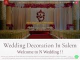 N wedding | stage decorators in salem | wedding decorators