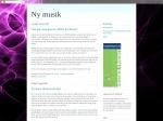 Ny musik - musikblogg