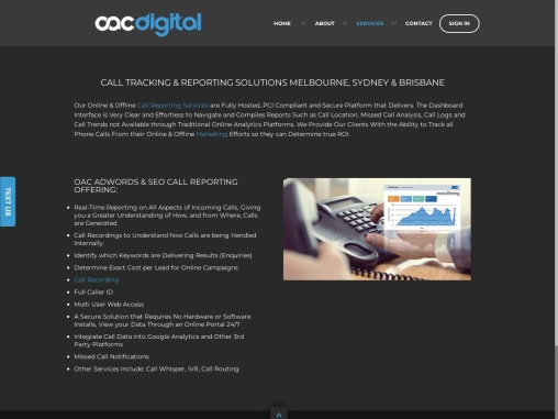 CALL TRACKING & REPORTING SOLUTIONS MELBOURNE, SYDNEY & BRISBANE