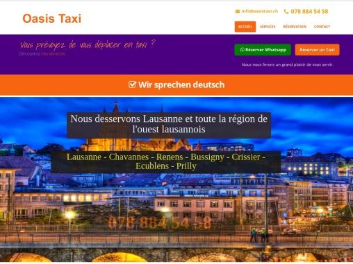 Lausanne taxi