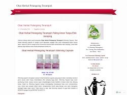 Obat Herbal Pelangsing Ampuh