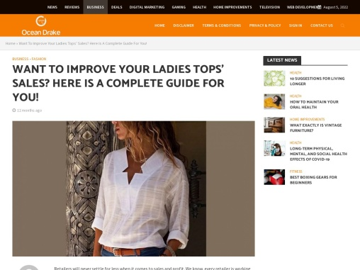 Improve Your Ladies Tops' Sales – Cheap Womens Tops