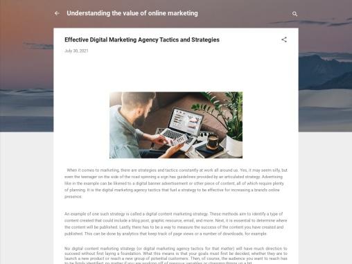 Effective Digital Marketing Agency Tactics and Strategies