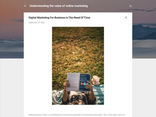 Digital Marketing For Business Is The Need Of Time