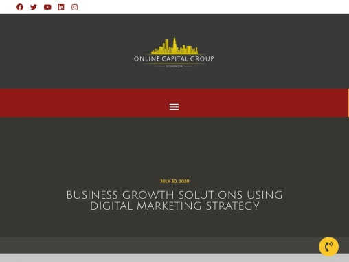 Business Growth Solutions Using Digital Marketing Strategy