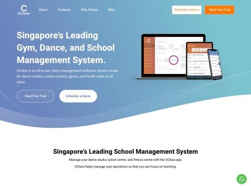 School and Studio Management System Singapore