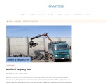 Benefits of Recycling Tires | Sky Tire