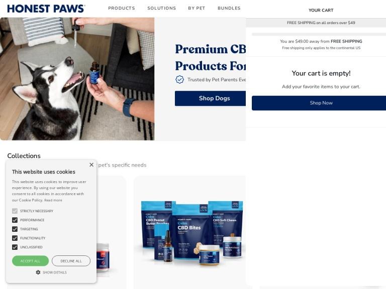 Honest Paws screenshot