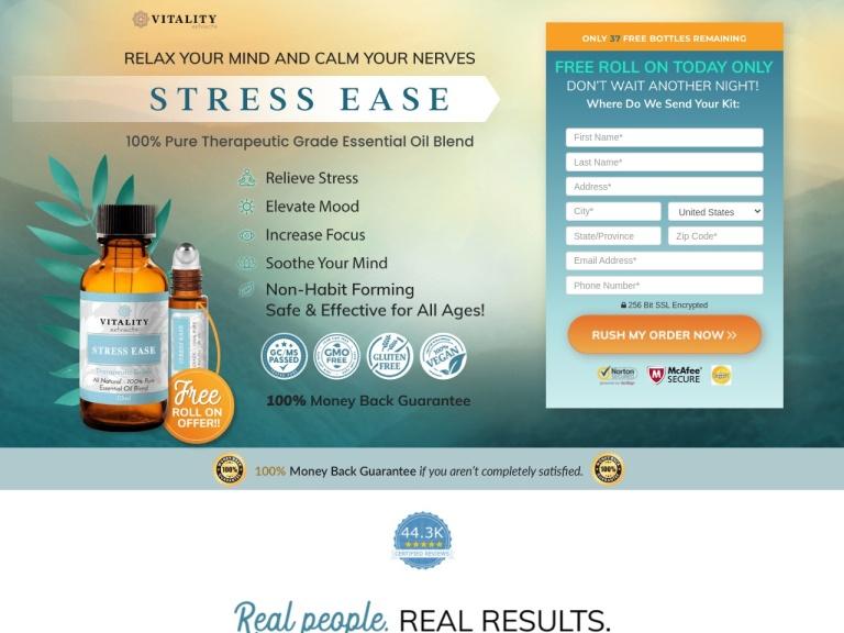 Stress Ease Oil screenshot