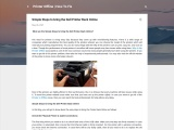 Simple Steps to bring the Dell Printer Back Online