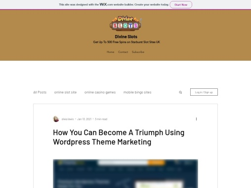 How You Can Become A Triumph Using WordPress Theme Marketing
