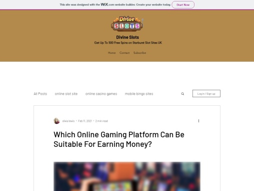 Which Online Gaming Platform Can Be Suitable For Earning Money?