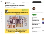 Events Management Companies in Dubai | Events Management Companies