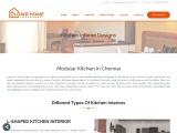 Modular Kitchen Designer Chennai|Kitchen Interior Design Chennai|Small Modular Kitchen Interior Desi
