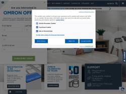 Omron Healthcare screenshot