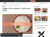 CARBS IN RICE: BENEFITS, RISKS AND MORE