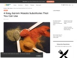 4 Easy Garam Masala Substitutes That You Can Use