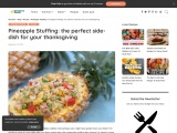 Pineapple Stuffing: the perfect side-dish for your thanksgiving