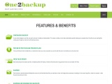 One2backup – Online Backup Features & Benefits