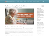 The Common Safety Risks for the Elderly