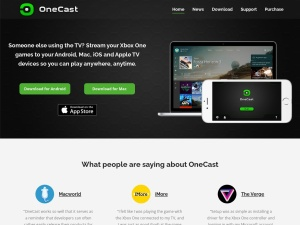 OneCast - Xbox One game streaming app for Mac, iPhone and iPad