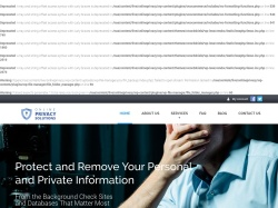 Online Privacy Solutions screenshot