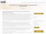 PMP Certification: Open The Doors to Unlimited Job Opportunities – certxpert.com