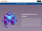 Get Better Israel Dedicated Server Hosting By Onlive Server