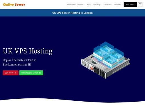Get Your Fully Managed UK VPS Hosting from Onlive Server