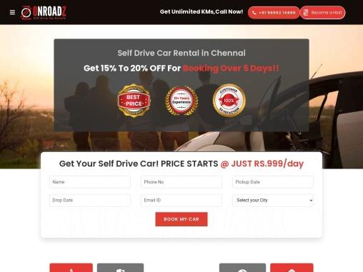 Self Driving Cars in Chennai | Book Car Rental in Chennai