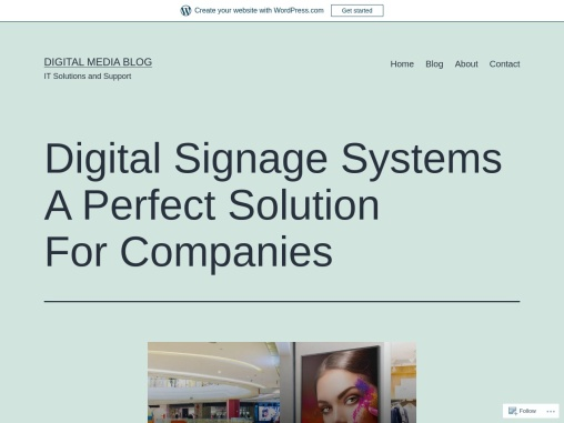 Digital Signage Systems A Perfect Solution For Companies