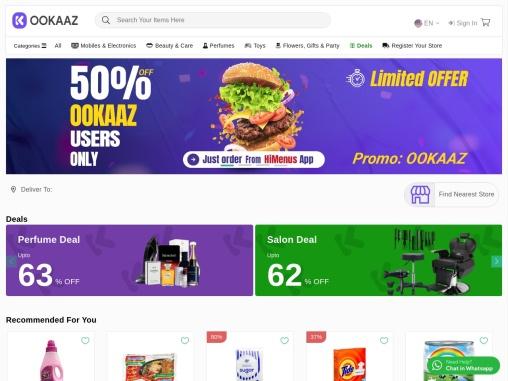 OOKAAZ – Online Grocery Shopping in Dubai, Buy Fresh Food, Kitchen