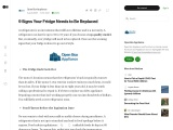 9 Signs Your Fridge Needs to Be Replaced