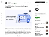 How ERP Software will Change the Education System?