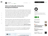 Advantages of Student Fee Management Software