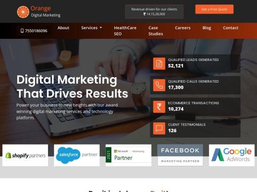Orange Digital Marketing  _ That Drives Results