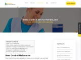 How our Bees Control Melbourne works?